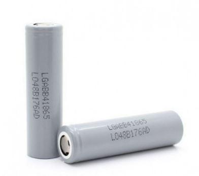 Аккумулятор LG ICR18650B4 3,7V  2600mAh