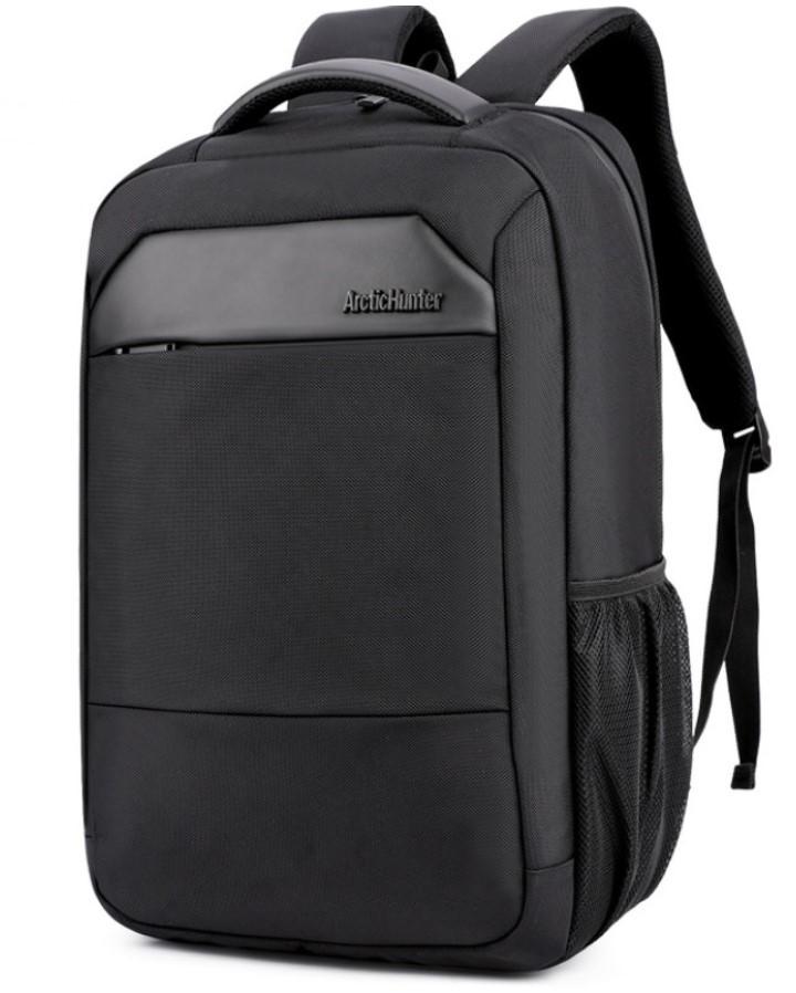 Рюкзак Arctic Hunter B00111C міський вологостійкий чорний 30 л