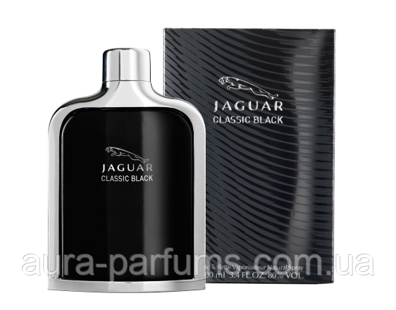 Jaguar Classic Black edt 100 ml. m оригинал