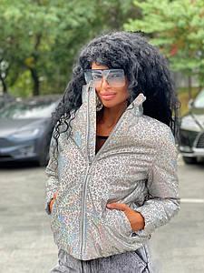 Жіноча куртка світловідбиваюча