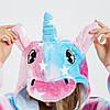 Пижамы кигуруми Единорог для подростков стильная подростковая пижама комбинезон кигуруми звезды, фото 2