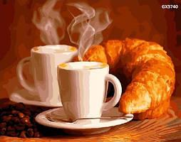 """Набір для розпису """"Кофе с круасаном"""" (GX5740)"""
