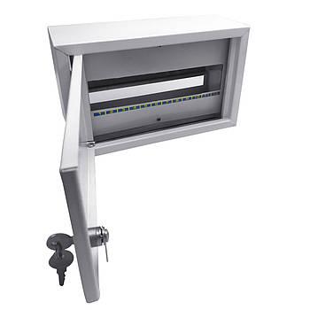 Щит осветительный (ЩО) на 12 автоматов внутренний (ЛОЗА) размеры: 165х260х100