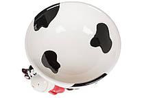 Піала керамічна 500мл з фігуркою Весела корівка