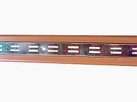 """Рейка двойная с деревянным декором """"Torg"""" ZZ-0050"""