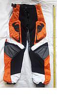 Мото штаны детские для мото кросса KTM Эндуро квадроцикл на возраст 7 лет, фото 1