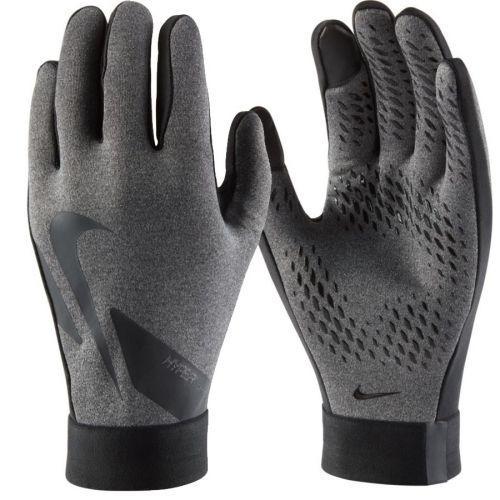 Перчатки футбольные детские Nike Hyperwarm Academy Jr CU1595-050 Серый