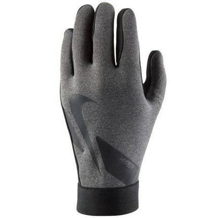 Перчатки футбольные детские Nike Hyperwarm Academy Jr CU1595-050 Серый, фото 2