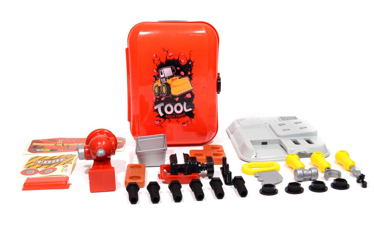 Портативный рюкзак TOOL Back Pack Игровой набор для мальчиков Набор инструментов для детей