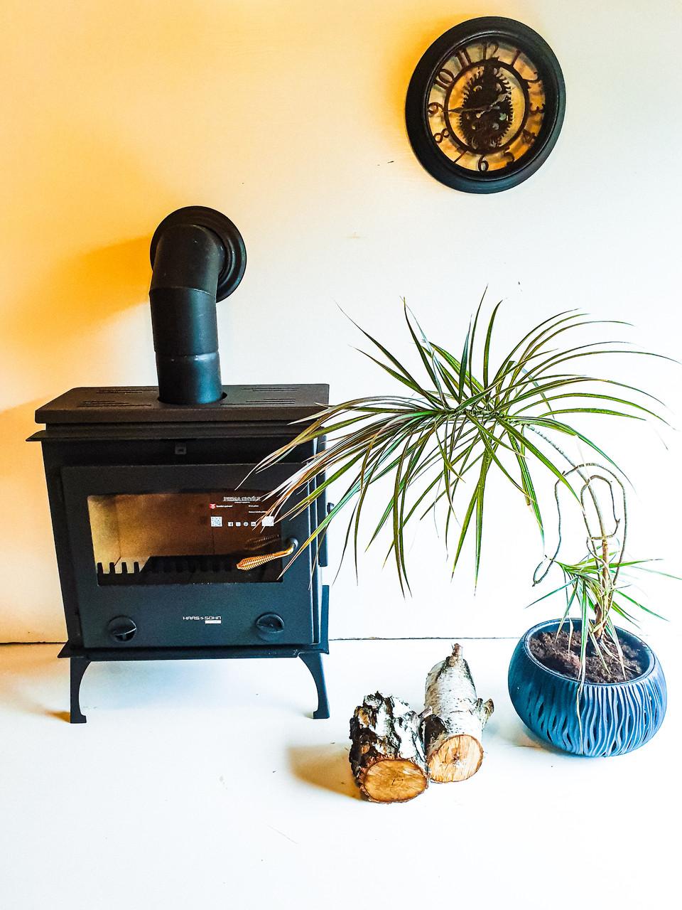 Печь для водяного отопления дома на дровах Haas+Sohn Arktic 12