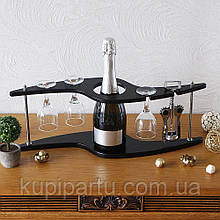 Набор для вина-Зигзаг Гранд Презент SS09188