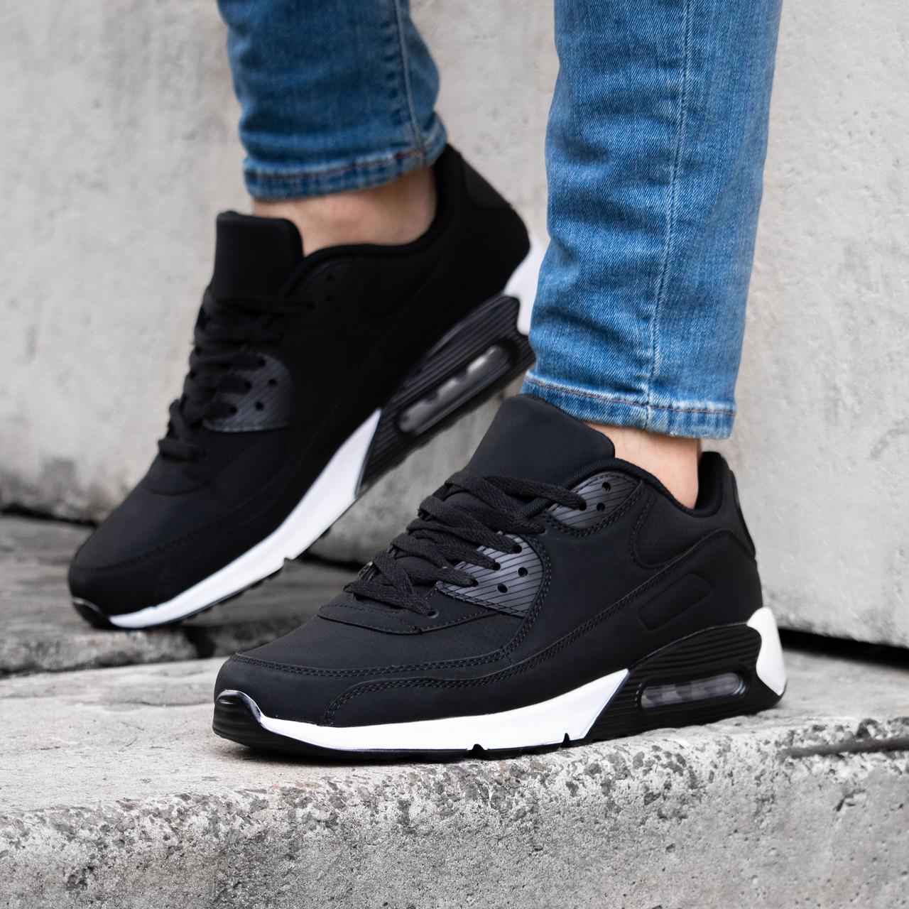 Чоловічі кросівки в стилі N!ike Air Max 90 взуття чоловіче демісезонне Розміри 40 | 41 | 42 | 43 | 44 | 45