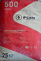 Цемент ПЦ  -500 Р-H тарированный 25кг. (Ивано-Франковск), заводская упаковка