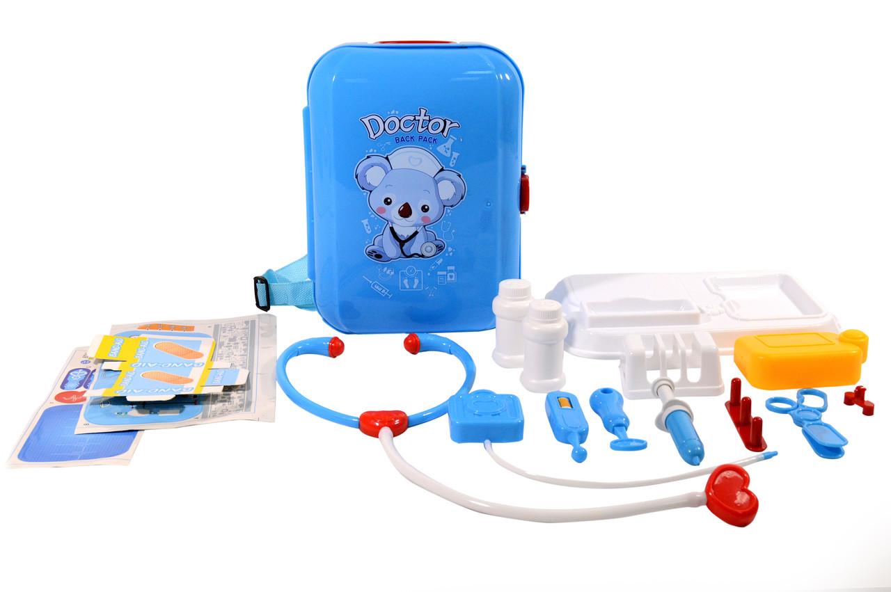 Портативний рюкзак DOCTOR Back Pack Ігровий набір для дітей Набір медичний