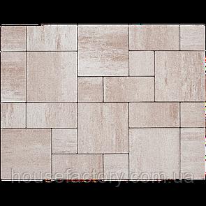 "Бетонна тротуарна плитка Авеню ""Стоун Лайт"" Палермо (з 3-х форм (150 x 150; 300 x 150; 300 x 3)"