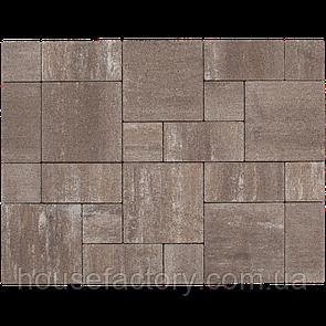 """Бетонна тротуарна плитка Авеню """"Стоун Лайт"""" Порто (з 3-х форм (150 x 150; 300 x 150; 300 x 3)"""