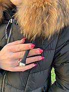 Пуховик женский с капюшоном FineBabyCat 553-black, фото 5