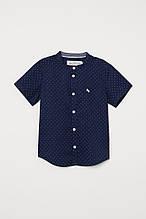 Модна дитяча сорочка з коротким рукавом НМ для хлопчика