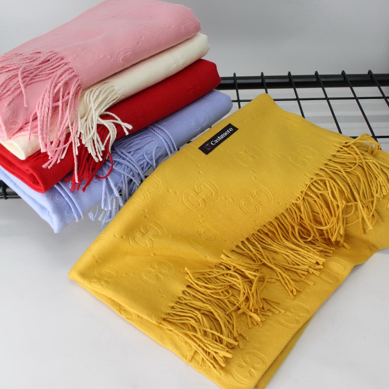 Теплый шарф кашемировый 134007