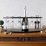 Набір для вина на 5 чарок-Експресія SS09190, фото 2