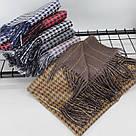 Теплый шарф двухсторонний кашемировый 133001, фото 2