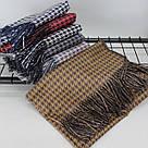 Теплый шарф двухсторонний кашемировый 133001, фото 3