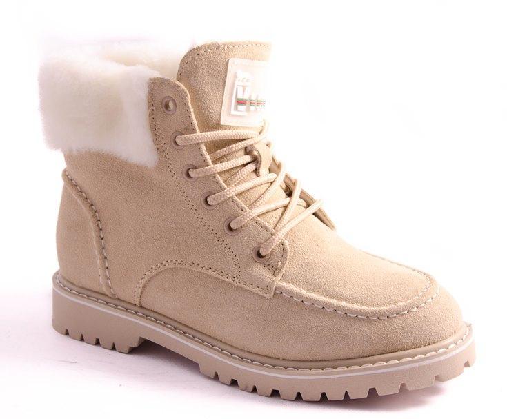 Ботинки женские бежевые All Shoes 1251-28E