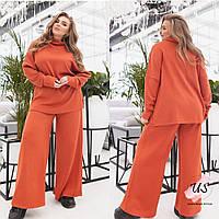 Женский батальный ангоровый брючный костюм. 3 цвета!, фото 1