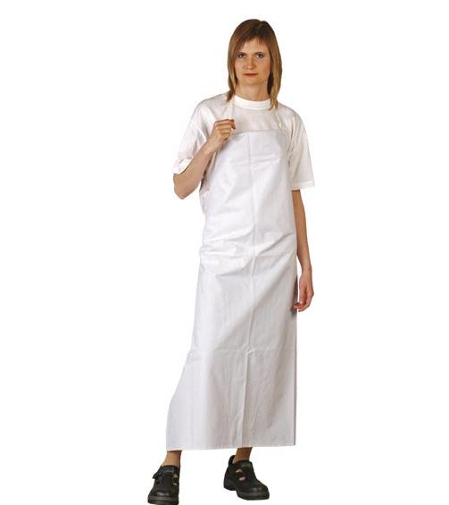 Длинный прорезиненный фартук Reis 90x120см FPCVLUX  (белый)