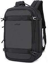 Рюкзак Arctic Hunter B00188 городской дорожный для ноутбука USB черный 30 л