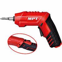 MPT Отвертка аккумуляторная поворотная. (MCSD4006.2)