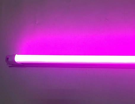 Светодиодный фитосветильник 18W линейный (fito spectrum led) Код.58844, фото 2