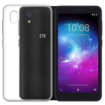 TPU чехол Epic Transparent 1,0 mm для ZTE Blade A3 (2019)