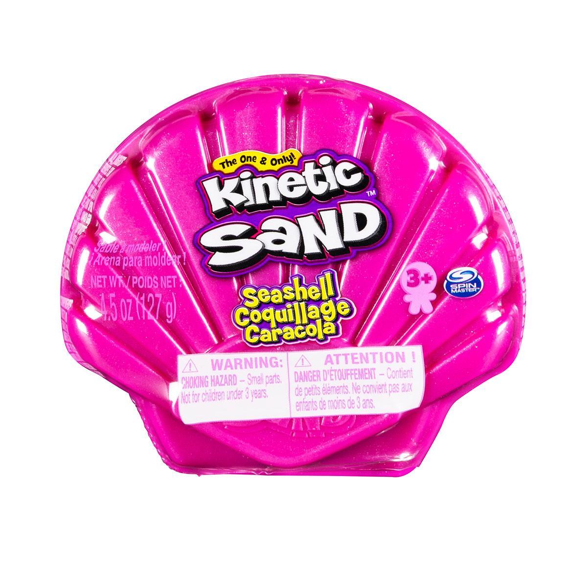 Набор Песка Для Детского Творчества - Ракушка Розовая Kinetic Sand 71482P
