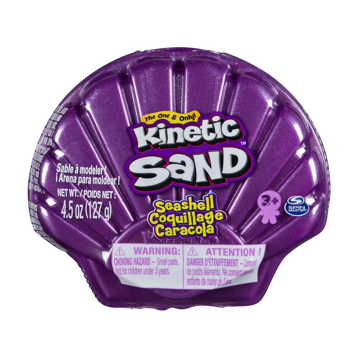 Набор Песка Для Детского Творчества - Ракушка фиолетовая Kinetic Sand 71482PP