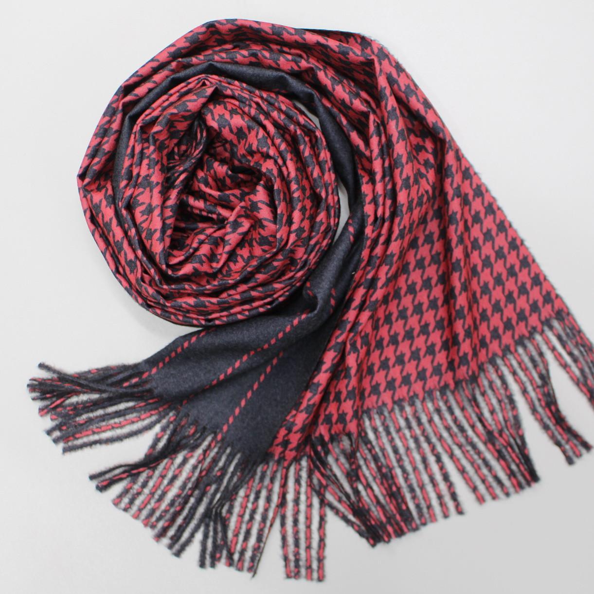 Теплый шарф двухсторонний кашемировый 133005