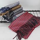 Теплый шарф двухсторонний кашемировый 133005, фото 2