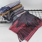 Теплый шарф двухсторонний кашемировый 133005, фото 4