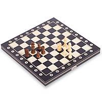 Шахи дерев'яні класичні Настільна гра Xinliye 29 x 29 см Чорний-білий (W8013)