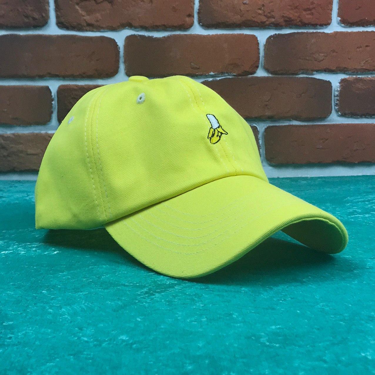 Кепка Бейсболка Мужская Женская City-A Fresh Fruit с Бананом Желтая