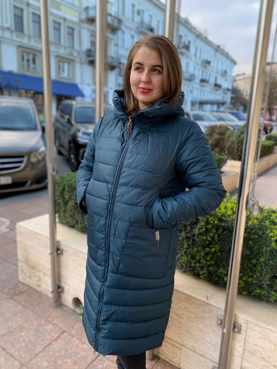 Женское пальто пуховик Visdeer 801-25