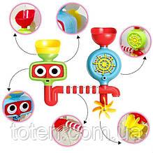 Іграшка для ванної Водоспад на присоску 9905, 2 ковшика