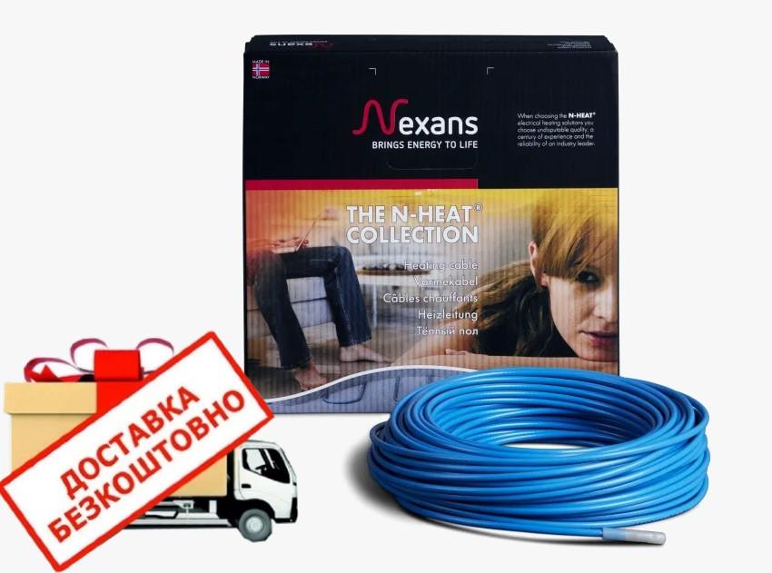 Двожильний гріючий кабель Nexans 11м² TXLP/2R 1500/17