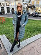 Пальто куртка с капюшоном Visdeer 801-34, фото 4