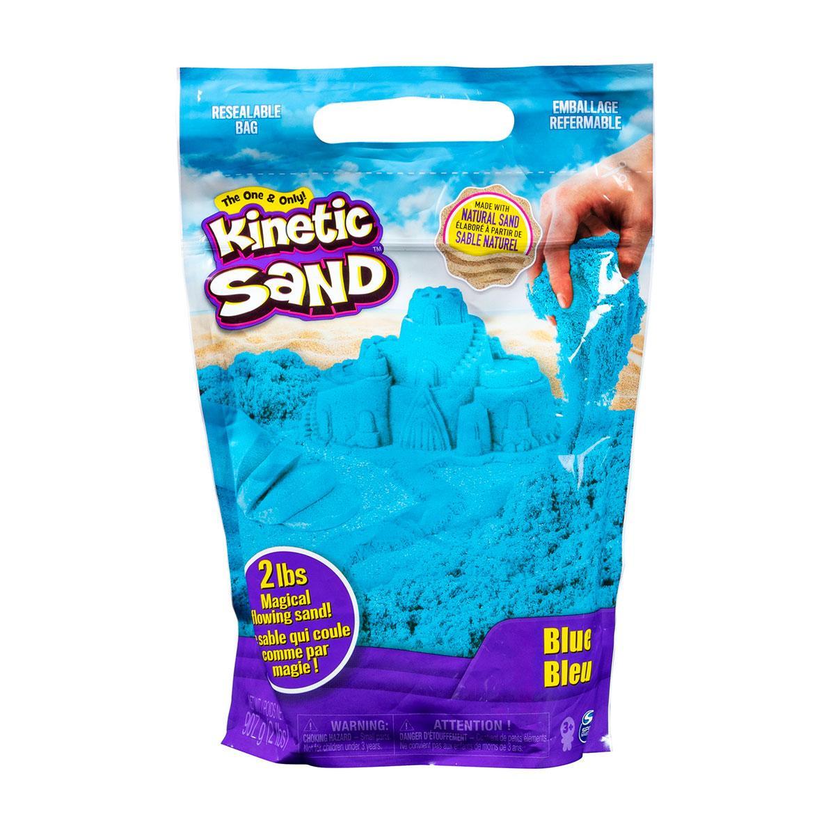 Песок Для Детского Творчества - COLOUR (синий, 907 g) Kinetic Sand 71453B