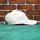Кепка Бейсболка Мужская Женская City-A Fox с Лисой Белая, фото 2