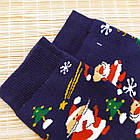 """Носки женские махровые новогодние высокие """"Стиль Люкс"""" размер 23-25 дед мороз на луне 20039820, фото 3"""