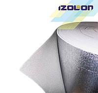 IZOLON BASE 2 мм фольгированный химически сшитый полиэтиен пенополиэтилен ППЭ, фото 1