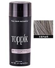 Кератиновий загусник для волосся Toppik (для маскування залисин) 27,5 м (для сивого волосся)