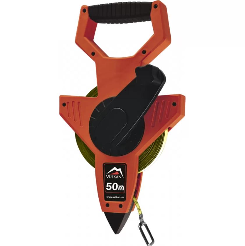 Рулетка измерительная геодезическая Vulkan, 50м (04H 50m)